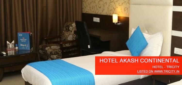 Hotel Akash constitntial