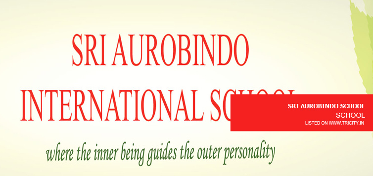 SRI AUROBINDO SCHOOL