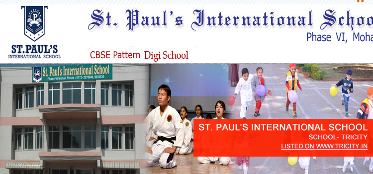 ST. PAUL'S INTERNATIONAL SCHOOL