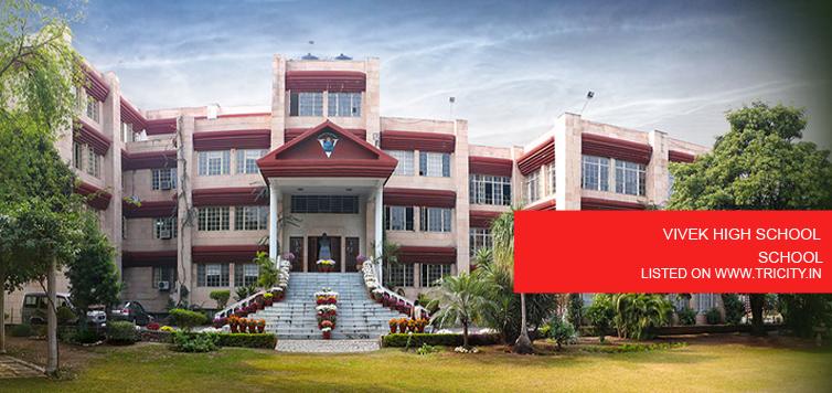 VIVEK HIGH SCHOOL CHANDIGARH