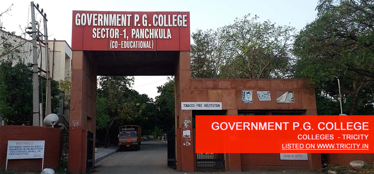 Government P.G. College