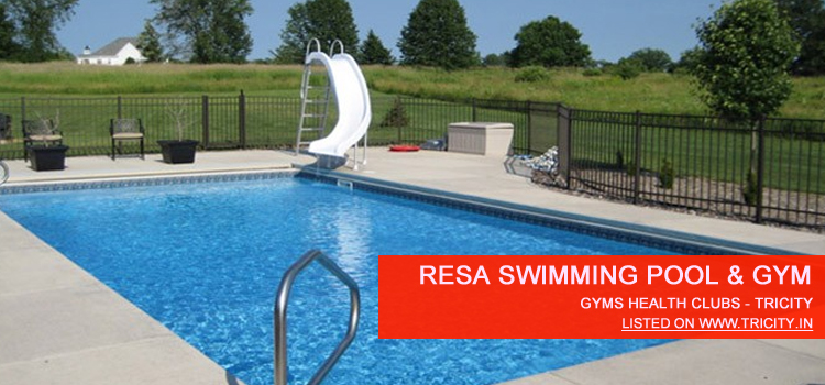 Resa swimming pool gym fitness club chandigarh sector 29 b tricity for Fitness club with swimming pool
