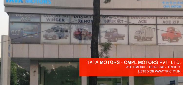 TATA MOTORS - CMPL Motors Pvt. Ltd. Mohali Automobile Dealers