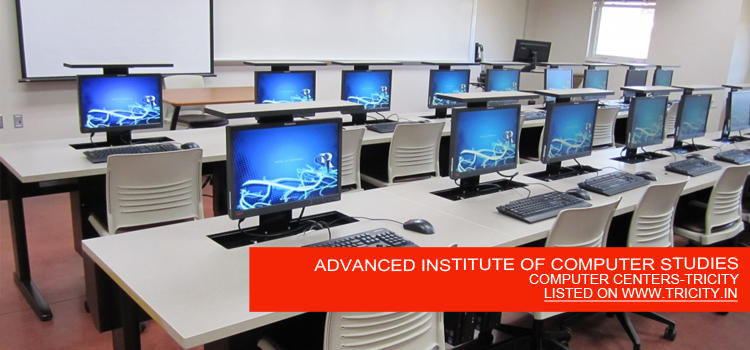 ADVANCED INSTITUTE OF COMPUTER STUDIES