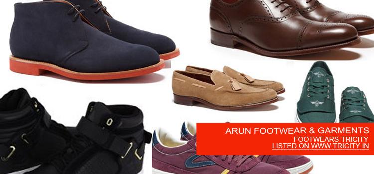 ARUN FOOTWEAR & GARMENTS