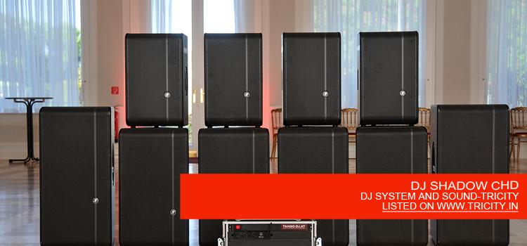 DJ SHADOW CHD