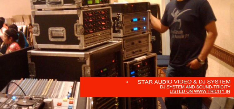 • STAR AUDIO VIDEO & DJ SYSTEM