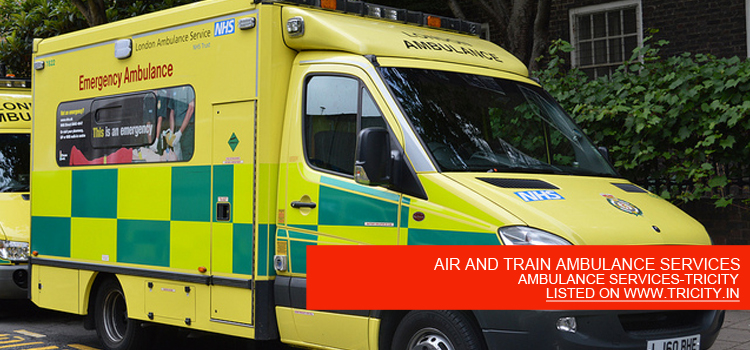 AIR AND TRAIN AMBULANCE SERVICES