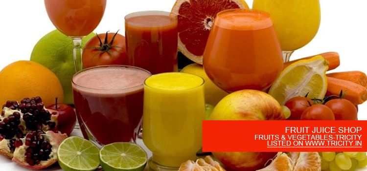 FRUIT JUICE SHOP