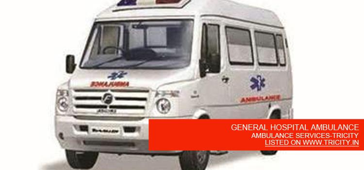 GENERAL HOSPITAL AMBULANCE