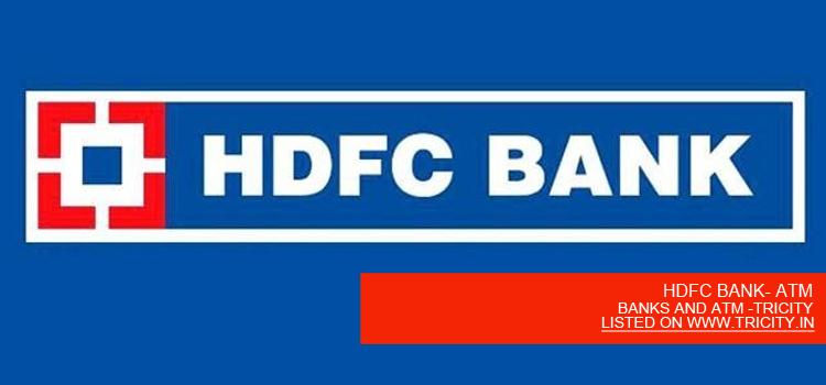 HDFC BANK- ATM