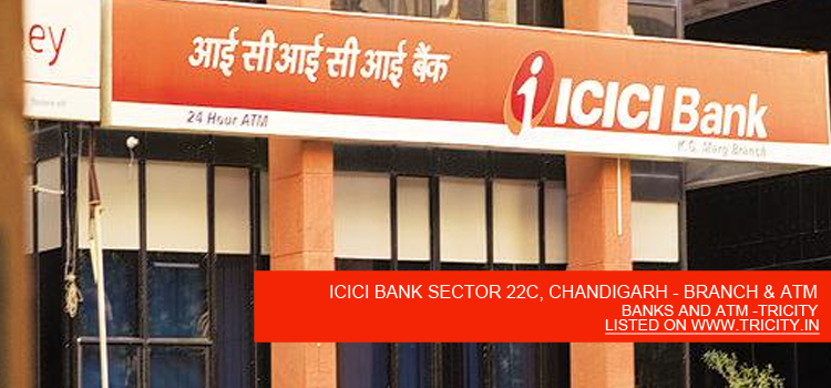 Icici Bank Sector 22c Chandigarh Nch Atm