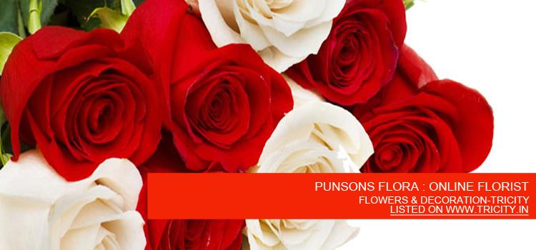 PUNSONS FLORA : ONLINE FLORIST
