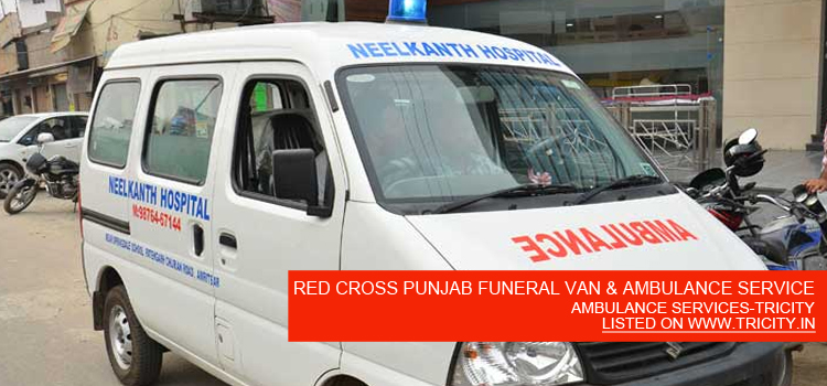 RED CROSS PUNJAB FUNERAL VAN & AMBULANCE SERVICE
