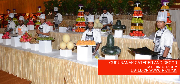 GURUNANAK CATERER AND DECOR