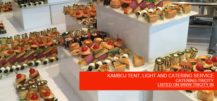 KAMBOJ TENT, LIGHT AND CATERING SERVICE