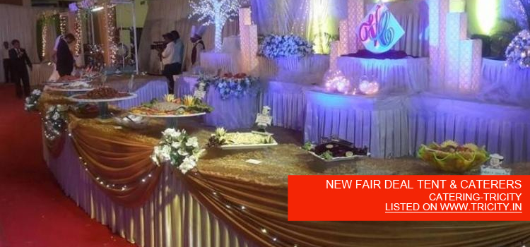 NEW FAIR DEAL TENT & CATERERS