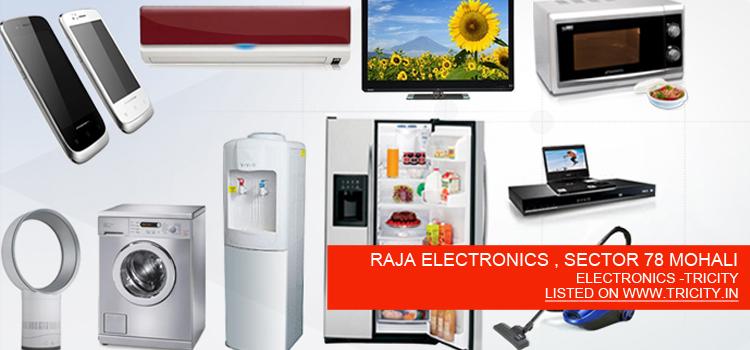 RAJA-ELECTRONICS-,-SECTOR-78-MOHALI