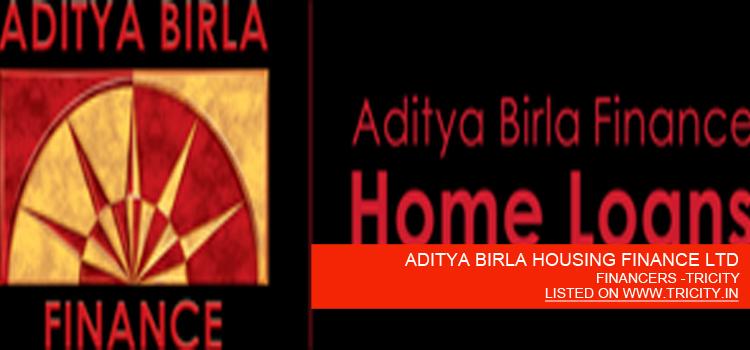 ADITYA BIRLA HOUSING FINANCE LTD