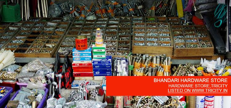 BHANDARI HARDWARE STORE