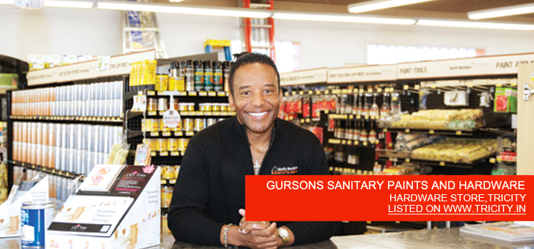 GURSONS SANITARY PAINTS AND HARDWARE