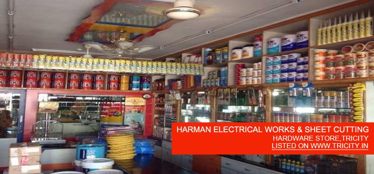 HARMAN ELECTRICAL WORKS & SHEET CUTTING