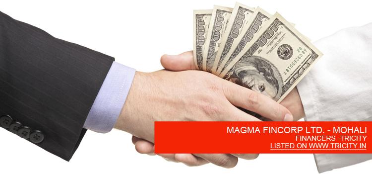 MAGMA FINCORP LTD. - MOHALI