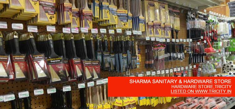 SHARMA SANITARY & HARDWARE STORE