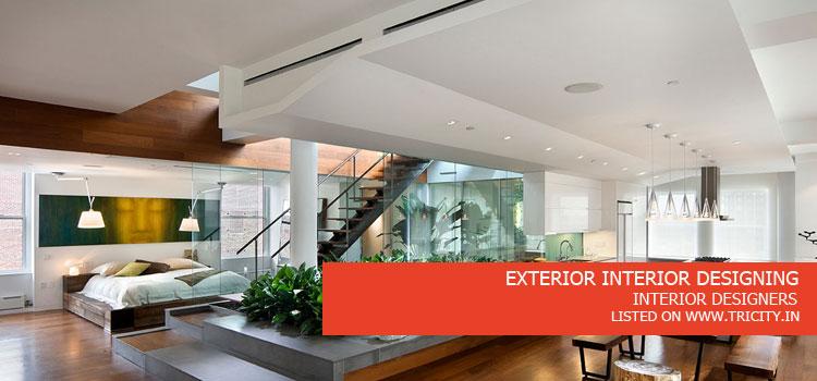 EXTERIOR INTERIOR DESIGNING
