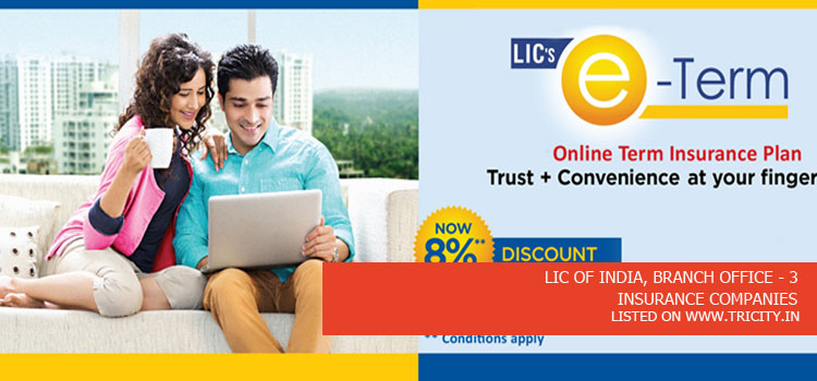 LIC OF INDIA, BRANCH OFFICE - 3