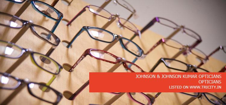 JOHNSON & JOHNSON KUMAR OPTICIANS