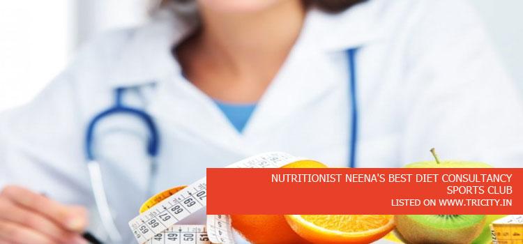 NUTRITIONIST NEENA'S BEST DIET CONSULTANCY