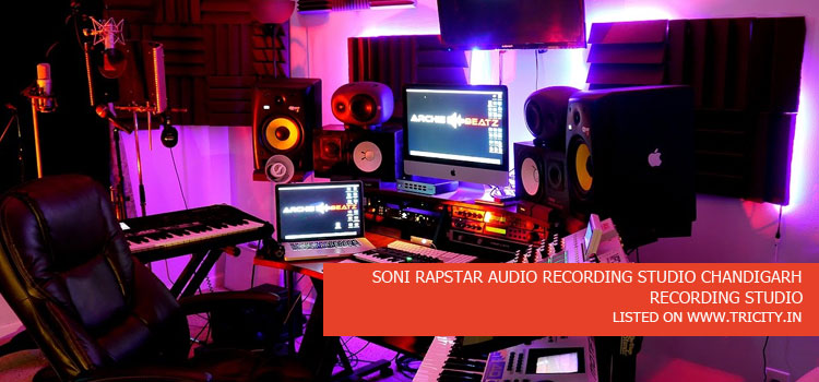 SONI RAPSTAR AUDIO RECORDING STUDIO CHANDIGARH