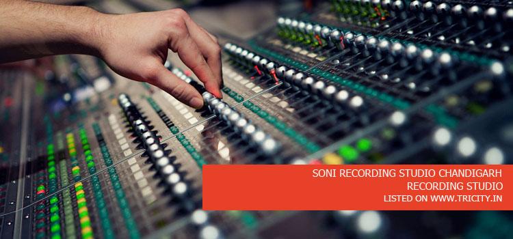 SONI RECORDING STUDIO CHANDIGARH