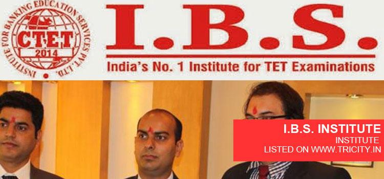 I.B.S. INSTITUTE