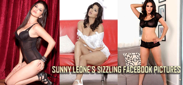 Sunny Leone's sizzling facebook pictures | Tricity