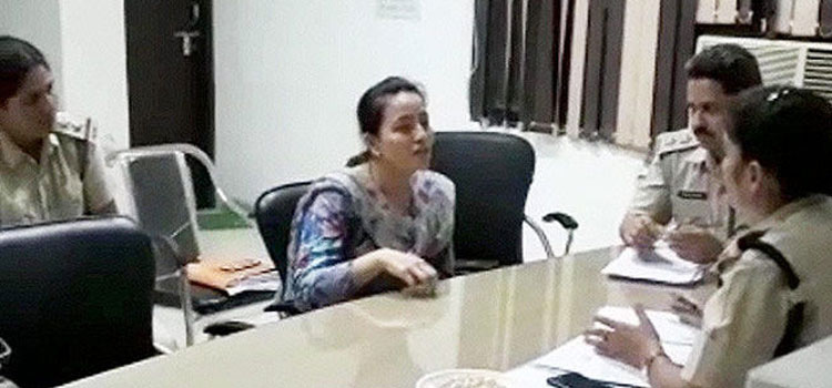 Honeypreet Insan Being Questioned by Panchkula Police
