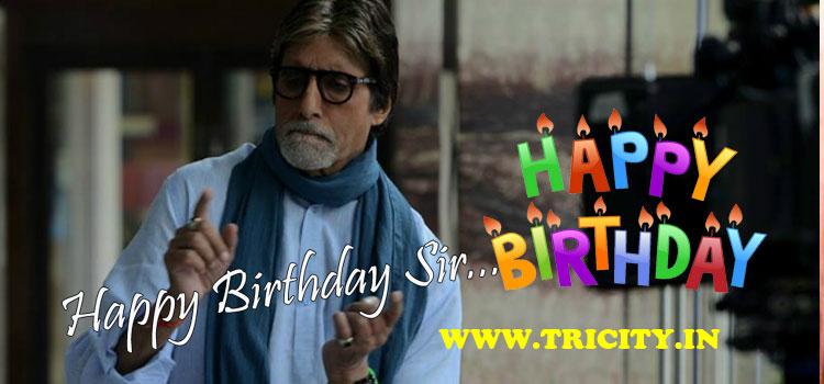 Happy Birthday, Amitabh Bachchan