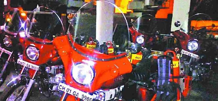 Fire Brigade Bike