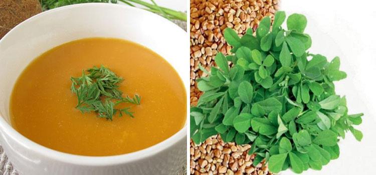 Methi Soup
