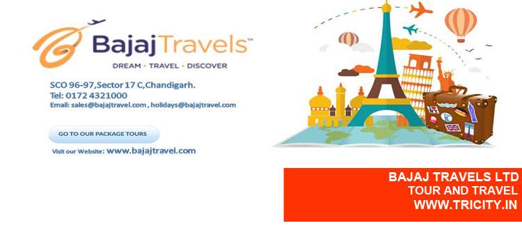 Bajaj Travels Ltd Chandigarh