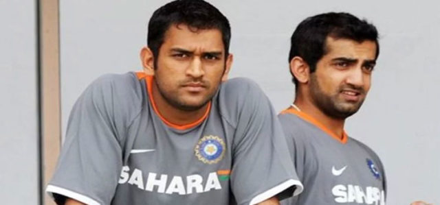 MS Dhoni And Gautam Gambhir