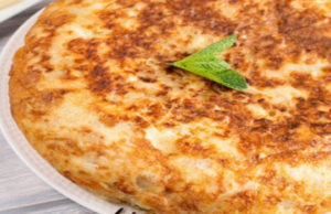 Mashed Potato Omelette Recipe