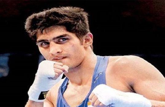 Boxer Vijender Singh