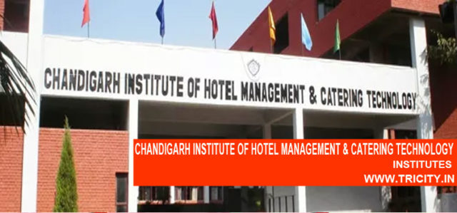 CHANDIGARH INSTITUTE OF HOTEL MANAGEMENT & CATERING TECHNOLOGY