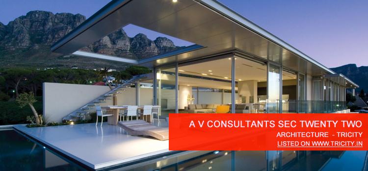 A V Consultants Sec Twenty Two