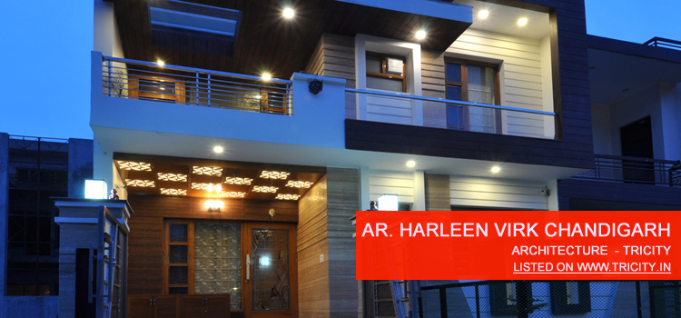 Ar. Harleen Virk chandigarh