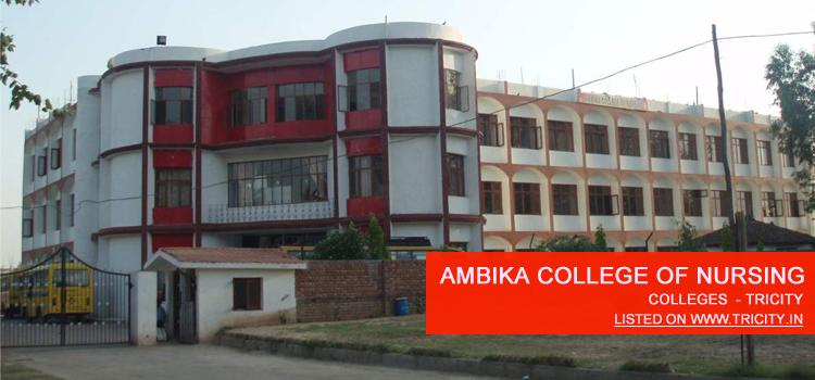 Ambika College of Nursing