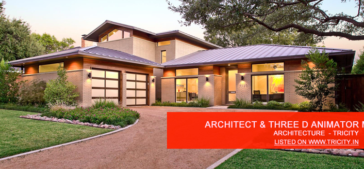 Architect & Three D Animator Mohali