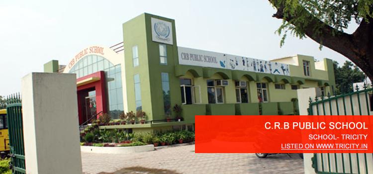 C.R.B PUBLIC SCHOOL